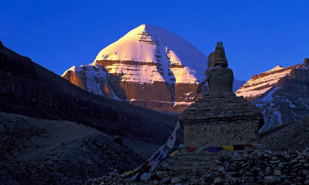 Места силы. Тайны горы Кайлас. Тибет.